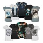 Firetrap Womens Graphic T Shirt Crew Neck Short Sleeve Print Casual Tee Top