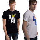 Men Summer Casual Personality Lighter Printed Cotton Short Sleeve T-shirt Tops