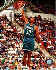 Dell Curry Charlotte Hornets Action Photo QB241 (Select Size)
