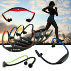 For iPhone Samsung Sports Wireless Bluetooth Handfree Stereo Headset Headphones