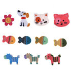 Cute Animal Shape Sew On Patches Yarn Applique for DIY Clothing Bags Hand Craft