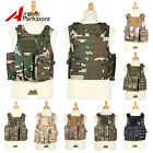 Tactical Military Hunting SWAT Police Molle Plate Carrier Vest Combat Airsoft