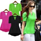 Women's Ladies Loose Long Sleeve Casual Blouse Shirt Tops Fashion Blouse