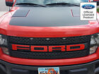 FORD RAPTOR SVT GRILL LETTER VINYL STICKERS DECALS 60+ COLORS LETTERS GRILLE