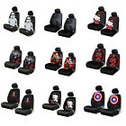 Brand New Classic Cartoon Universal Fit Car Truck Front Low-Back Seat Covers $44.95 USD on eBay