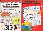 Thank You Teaching Assistant Card - End of Term Thank you Card Various Designs