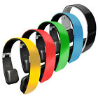 New PHBT6 Bluetooth 2-In-1 Stereo Headphones w/ Mic for Call Answering -5 Colors