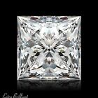 0.73ct D/SI1/Ideal-Pol Princess Cut GIA Certify Genuine Diamond 5.04x4.95x3.48mm