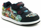 Boys/Childrens Synthetic Leather Upper, Twin Strap Touch Fastening, Skater Style