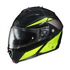 HJC 2015 ADULT Street Helmet IS ISAXII Elemental MC3H Black/Yellow XS-5XL
