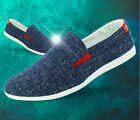 New Summer Men Trendy Slip-on Casual Canvas Fashion Flats Retro Classic Shoes