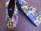 GOLDEN STATE WARRIORS PRINT BOWLING SHOE COVERS-MED, LG OR XL