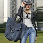 Women Denim Handbag Large casual single-shoulder bag travelling bag Fashion Tote
