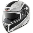 Caberg V2RR chrono white black MOTORCYCLE HELMET with Integral Sunvisor
