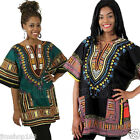 Mokingtop Traditional Thailand Style African Print Dashiki T-shirt Blouse Tops