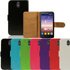 Flip Pu Leather Flip Case Wallet Cover For The Huawei Y625