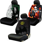 Warner Brothers DC Comic Batman Characters Universal Seat Cover for Car Truck