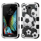For LG Premier LTE IMPACT TUFF HYBRID Protector Case Skin Phone Cover Accessory