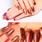 1440 Pcs Crystal Flame AB Color Rhinestones 6ss - 20ss Nail Art Craft Decor