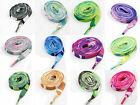 10mm FLAT WIDE 120cm CAMOFLAGE SHOE LACES *11 COLOURS* TRAINERS SNEAKERS