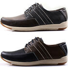 New Polytec Modern Casual Formal Lace up Oxford Men Dress Sneakers Shoes