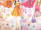 Daughter 13th or 16th Birthday Card - Lovely Verse Good Quality GR