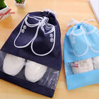 S/L Laundry Shoe Travel Pouch Portable Tote Drawstring Storage Bag Organizer SY
