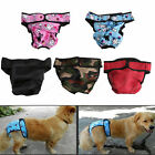 Pet Dog Physiological Pants Diaper Panties Underwear for Female Dog Washable US