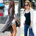2016 Women Casual Long Sleeve Cardigan Knitted Outwear Sweater Coat Top 5 Colors