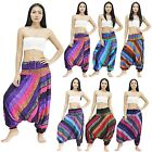 Pants PCR720-725 Jumpsuit 2in1 Rayon Harem Yoga Genie Aladdin Beach Men Women
