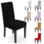 2/4/6 X Spandex Stretch Chair Seat Cover Used Repeatedly Different Colours Noble