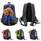 New Pet Dog Carrier Shoulder Backpack Bag Outdoor Hiking Camping Travel Holder