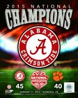 Alabama Crimson Tide 2015 Football National Champions Photo SQ022 (Select Size)