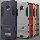 For Motorola Moto Z Droid Case Hard Kickstand Protective Cover