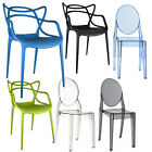 RETRO CHAIR BAR STOOL DINING LOUNGE KITCHEN HOME MODERN DSR DSW PLASTIC NEW
