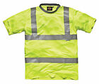 DICKIES HI VISIBILITY SAFETY T-SHIRT SA22080 ALL SIZES EN471:2003 Class2 Level 2