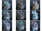 52mm  Hand carved Indian agate elephant  figurine