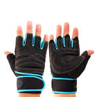 Half Finger Wrist Wrap Fitness Gloves Weight Lifting Gym Gloves Brace Sporting