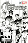 ALL NEW INVADERS #1 1ST PRINT VF/NM CASSADAY SKETCH VARIANT WINTER SOLDIER