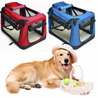Pet Carrier Portable Dog House w/ Soft Sided Cat Comfort Travel Oxford Tote Bag