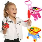 Children Unisex Arshiner 14PCS Supermarket Shopping Cart Toys Colorful N4U8