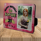 Personalised 18th 21st 30th 40th 50th Birthday WOOD PHOTO KEEPSAKE GIFT PRINT