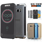 HTC 10 Ice View Smart Notification Fingerproof Flip Case Cover for HTC one M10