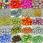 14*9.4mm Bulk! Mix Oblong Acrylic Miracle Magic Bead Jewelry Finding Loose Beads
