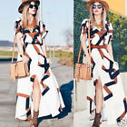 Womens Summer Boho Long Maxi Dress Evening Cocktail Party Beach Vintage Dresses