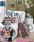 VERSATILE 3-PC TRENDY DUFFEL TOTE TOILETRY BAG LUGGAGE SET 3 PATTERNS AVAILABLE
