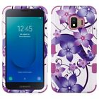 For Samsung Galaxy J2 Core Rubber IMPACT TUFF HYBRID Case Skin Phone Cover