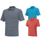 2015 Adidas ClimaLite 2 Color Stripe Golf Polo CLOSEOUT NEW