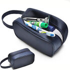 Camping Mens/Ladies Travel Toiletry Wash Bag Makeup Case Hanging Grooming Shave