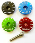 "RISK BIKE CYCLE AHEAD HEADSET TOP CAP & BOLT STAR NUT 1 1/8"" - CLOCK DESIGN"